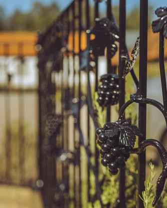 Grapevine Iron Railings