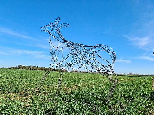 Deer Sculpture (Doe)