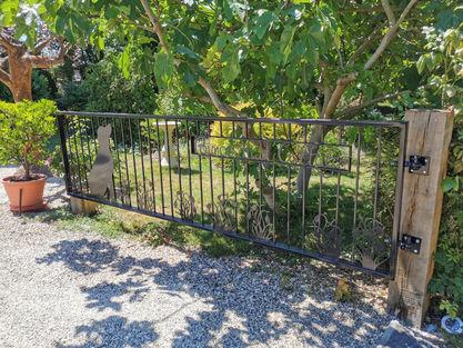 Personalised Driveway Gate