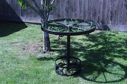 Wagonwheel Table