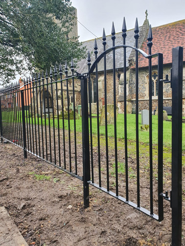 Traditional Iron Gates & Railings