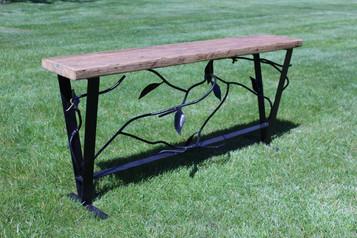 Vine & Leaf Bench
