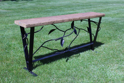 Bespoke and Decorative Metal Garden Bench