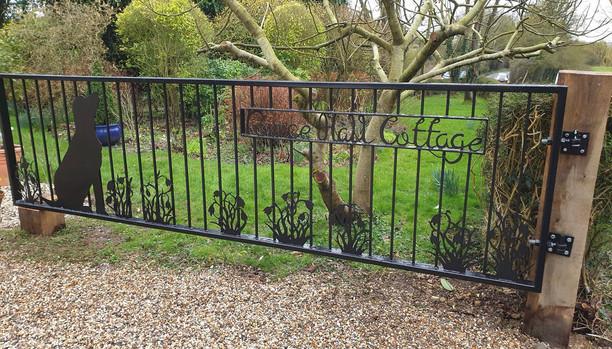 Bespoke Iron Driveway Garden Gate
