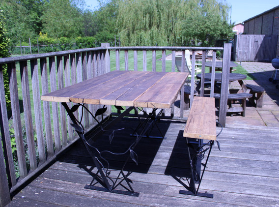 Vine Table with Vine Bench