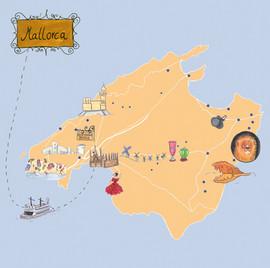 Mallorca, für Oetinger Verlag