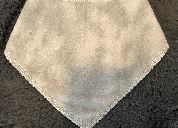 Grey Bandana Bib