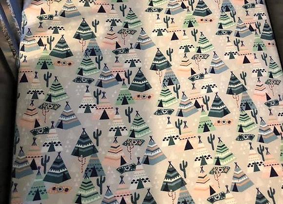 Pastel Tent Crib Sheet