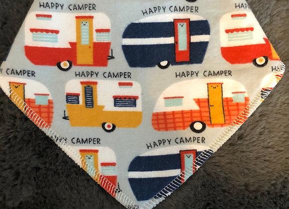 Happy Camper Bandana Bib