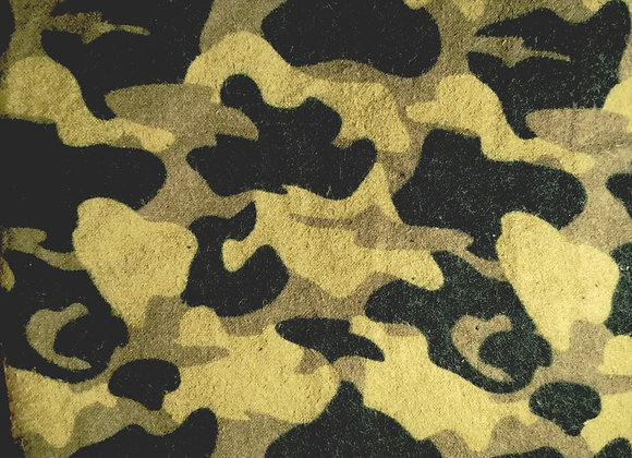 Camouflage Pack and Play Sheet