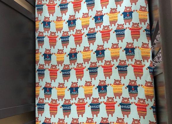 Bear Hugs Crib Sheet
