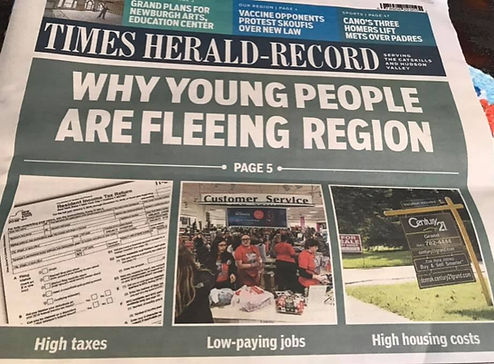 Times Herald Record Article Young People