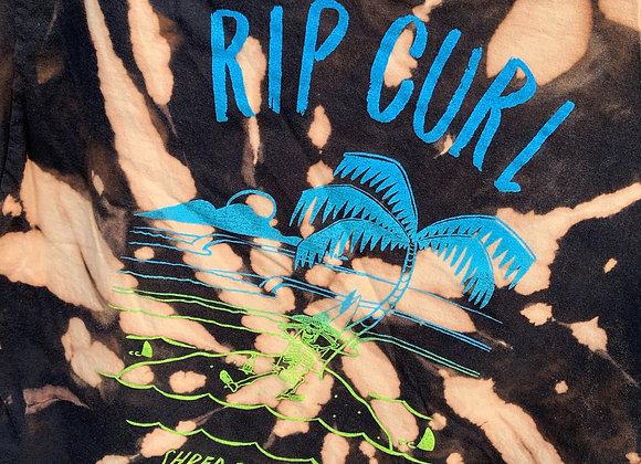 Rip Curl Cropped Tie Dye, Sz. M