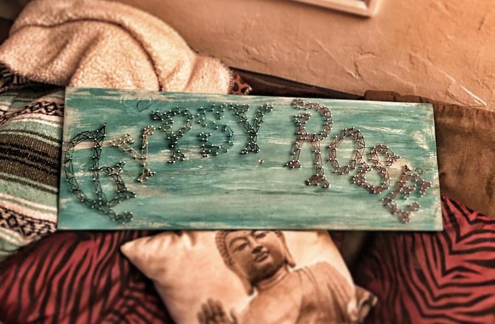 Gypsy Rose Threads String Art Branding