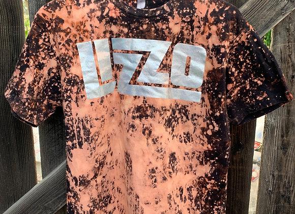 Lizzo New Bleached Tie Dye Short Sleeve Tee