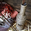 Thumbnail: Incense Burner Bottle, Rustic Autumn & Fall Pumpkins on Burlap