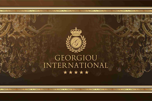 GEORGIOU INTERNATIONAL GIFT VOUCHER