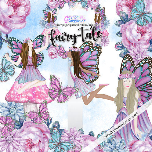 Fairy fashion Clipart Collection