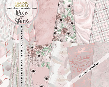 Rise and shine digital papers