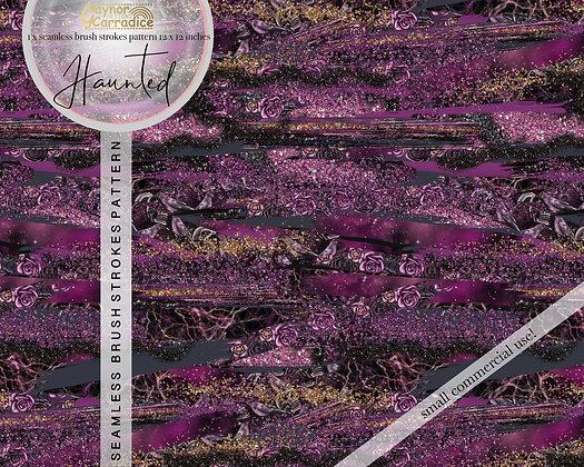 Haunted brush strokes pattern