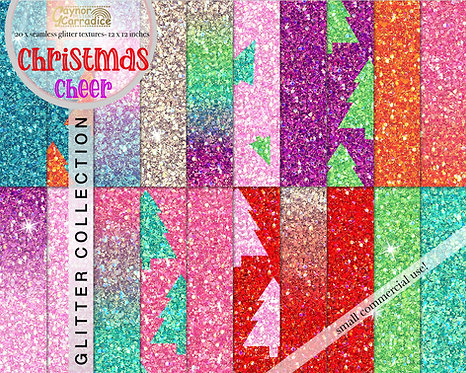 Christmas glitter backgrounds
