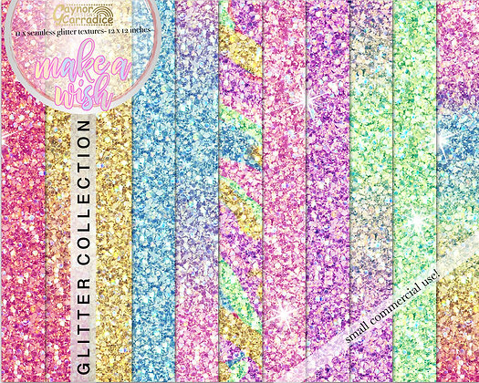 make a wish glitter backgrounds