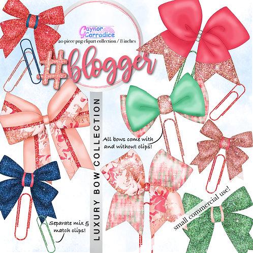 Blogger Bow Clip collection