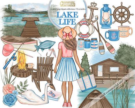 Lake life clipart