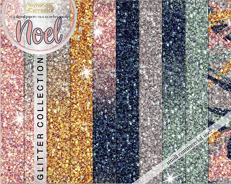 Noel glitter backgrounds