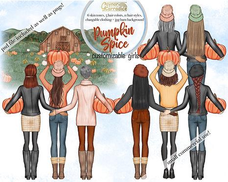 Pumpkin spice besties