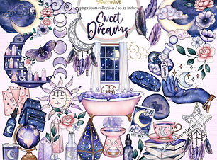 sweet dreams gaynor carradice watercolor