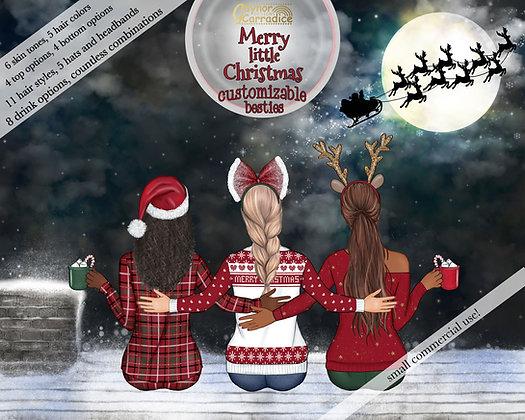 Merry little Christmas besties