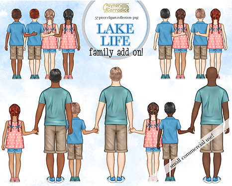 Lake life family add-on