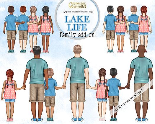 Lake life family add-on