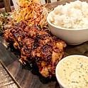【平日限定】国産鶏もも肉のタレ唐揚げ4個(約250g)