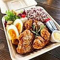 国産鶏もも肉のタレ唐揚げ弁当
