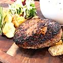 熟成肉入り牛100%ハンバーグ プレート(限定10食)