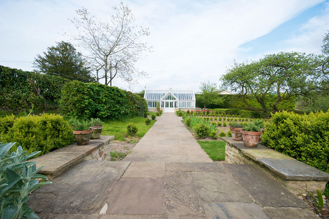 Traditional English Greenhouse