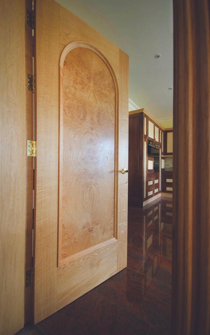 Burr Oak internal door package