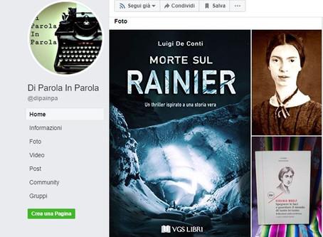 """Recensione di """"MORTE SUL RAINIER"""" di Luigi De Conti"""