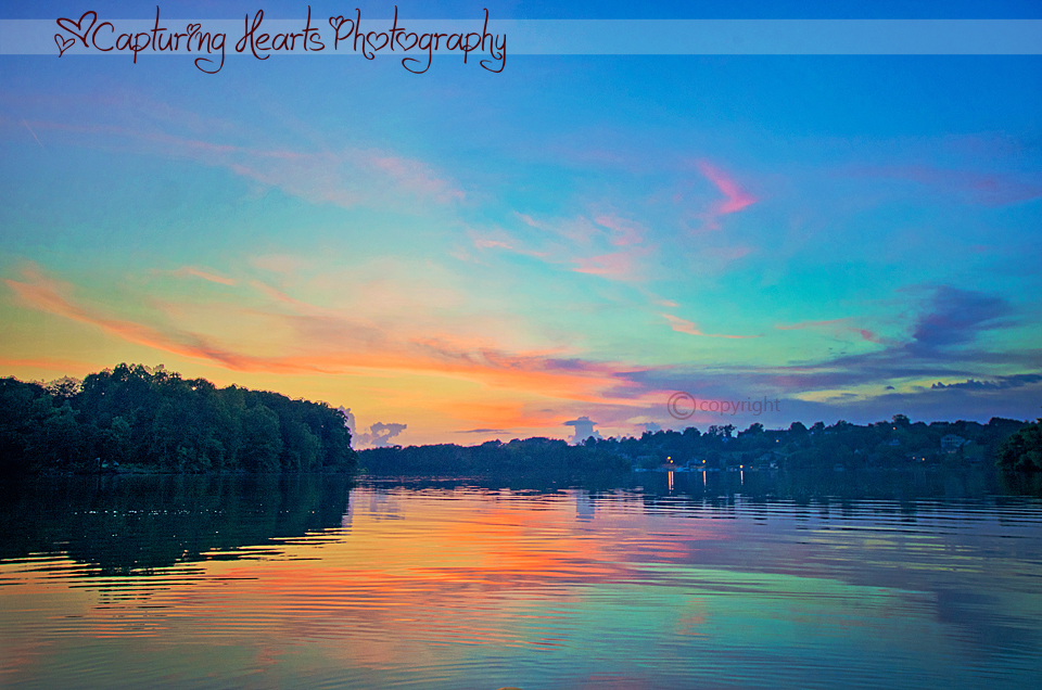Sunset+on+Lake+Tellico+Greenback+Tennessee+Fine+Art+photography+for+sale