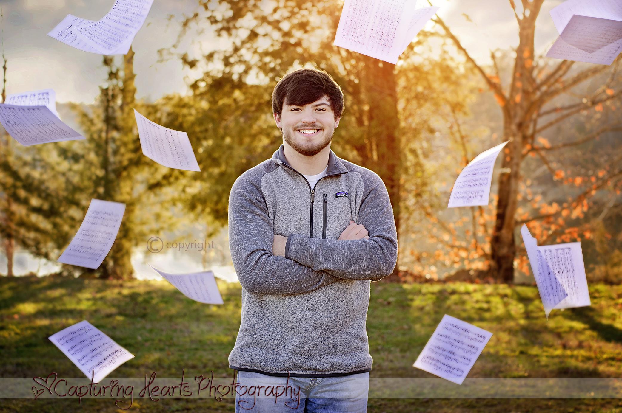 high school senior photos music sheets 1