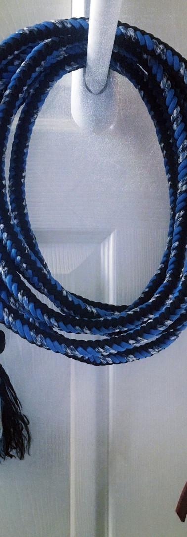 Mecate: Blue Black Silver