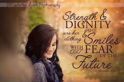 strength and dignity woman highschool senior knoxville photography