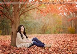 highschool senior photos fall photography knoxville