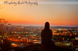 above the city of knoxville photography