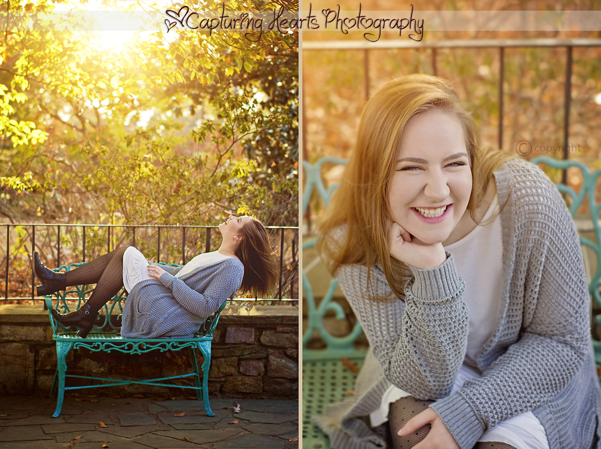 sunny senior session knoxville