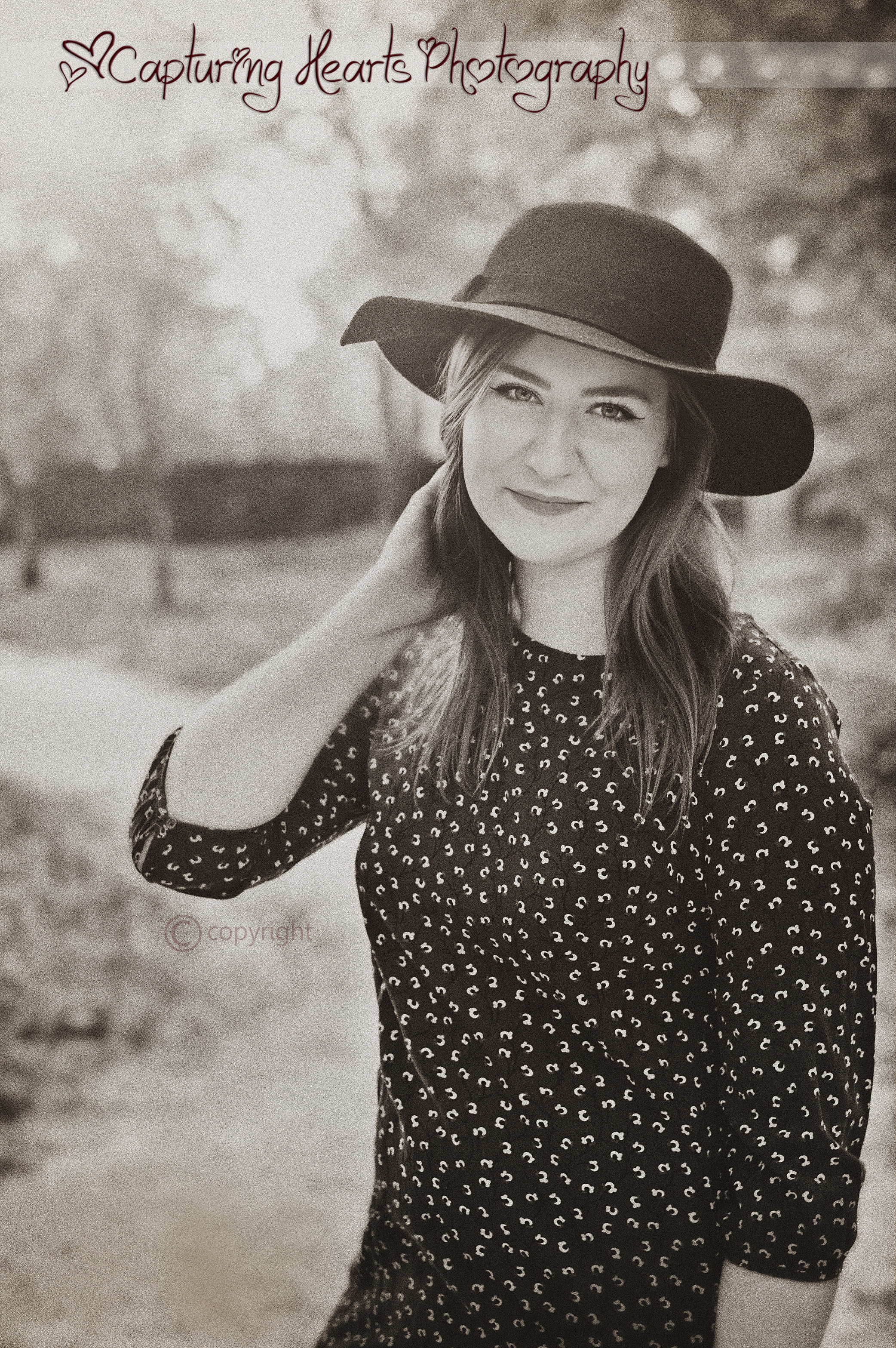 beautiful senior session knoxville tennessee vintage