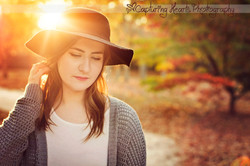 beautiful senior session knoxville tennessee
