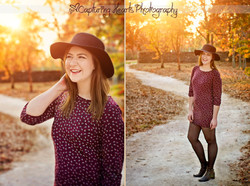 beautiful senior session knoxville tennessee dress